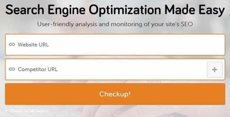 آنالیز سئو سایت وردپرس در seo site checkup
