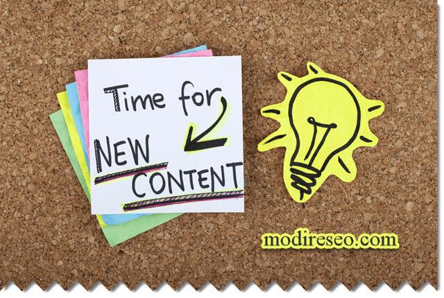 افزایش بازدید سایت با محتوای جدید
